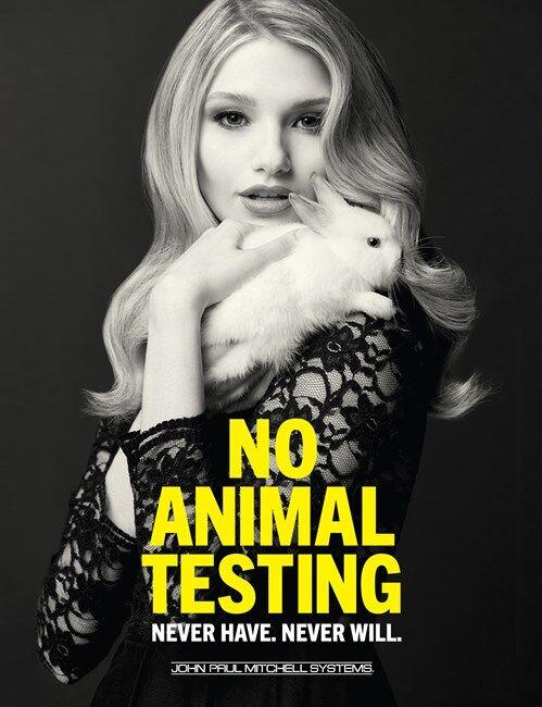 Sin pruebas en animales
